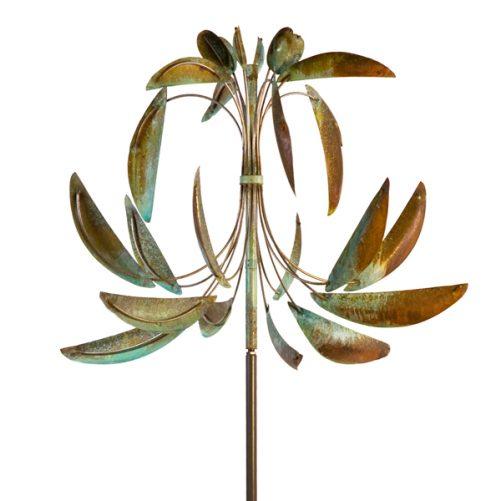 Fluer-De-Lis-Wind-Sculpture-Lyman-Whitaker-at-Worthington-Gallery