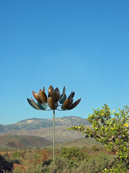 Lotus-Wind-Sculpture-Lyman-Whitaker-blue-sky